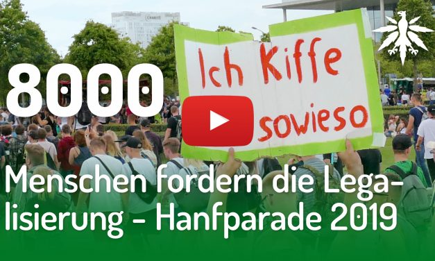 8000 Menschen fordern die Legalisierung – Hanfparade 2019 | DHV-Video-News #214