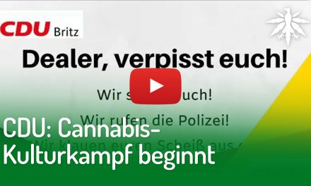CDU: Cannabis-Kulturkampf beginnt | DHV-Video-News #220