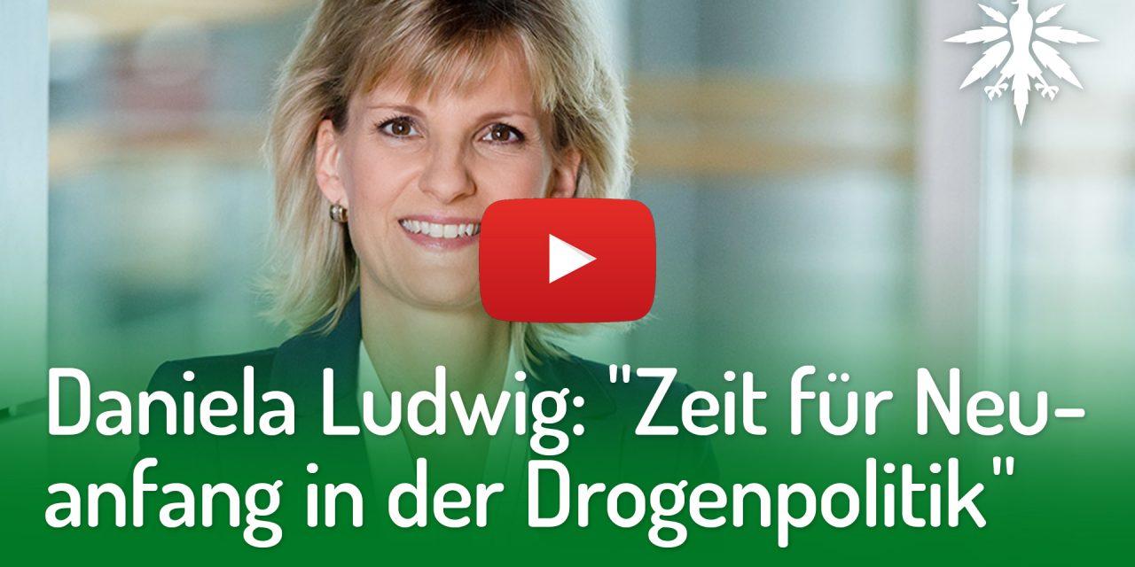 "Daniela Ludwig: ""Zeit für Neuanfang in der Drogenpolitik"" | DHV-Video-News #221"