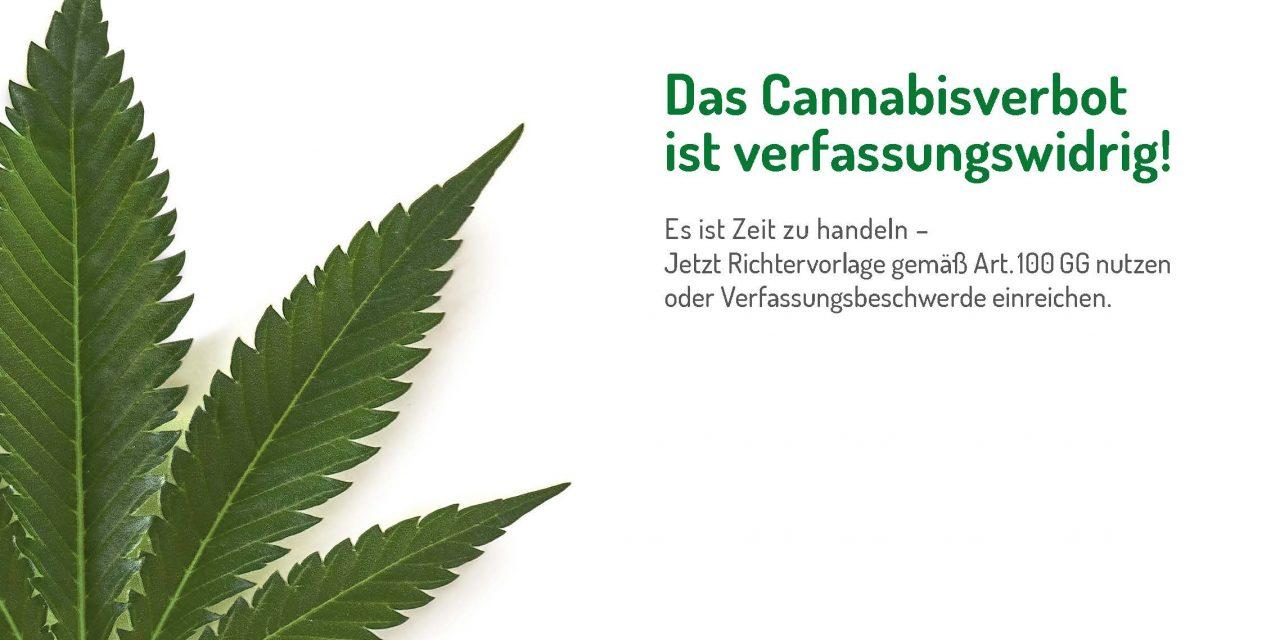 Das Cannabisverbot ist verfassungswidrig! | Deutscher Hanfverband