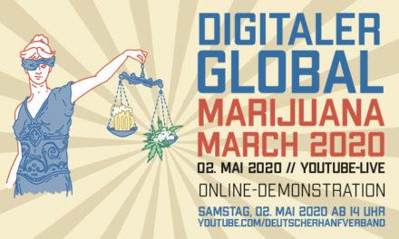 Global Marijuana March goes digital – Deutscher Hanfverband demonstriert online für Cannabislegalisierung