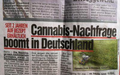 Cannabis-Nachfrage boomt in Deutschland …
