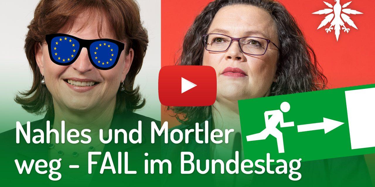 Nahles und Mortler weg – FAIL im Bundestag | DHV-Video-News #208