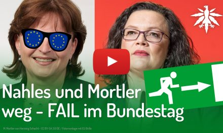 Nahles und Mortler weg – FAIL im Bundestag | DHV-Video-News #208