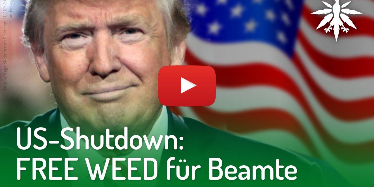 US-Shutdown: Free Weed für Beamte | DHV-Video-News #193