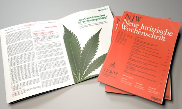 Werbeanzeigen für Justizoffensive erschienen | Deutscher Hanfverband