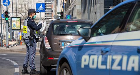 Italien mit fast 800 Toten an einem Tag