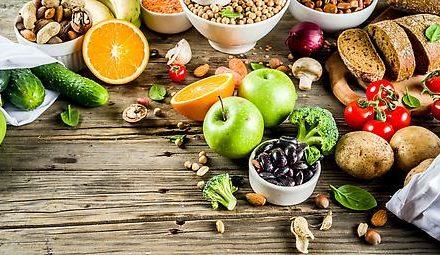 Obst, Gemüse und Vollkornprodukte (außer Popcorn) schützen vor…